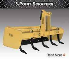 3-Point Scrapers -