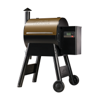 PRO 575 PELLET GRILL - BRONZE - The Traeger Pro Series is the best-selling pellet grill in the world. The all-new Traeger Pro 575 grills just got better with an enhanced controller that uses WiFIRE® technology. WiFIRE® allows you to monitor and adjust your grill anytime, anywhere from the Traeger app on your smartphone. Plus, with the brand-new D2® drivetrain, the Pro Series wifi pellet grills now start quicker, heat up faster, and put out better smoke quality giving you consistent results infused with wood-fired flavor.