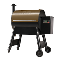 PRO 780 PELLET GRILL - BRONZE - The Traeger Pro Series is the best-selling pellet grill in the world. The all-new Traeger Pro 780 grill just got better with an enhanced controller that uses WiFIRE® technology. WiFIRE® allows you to monitor and adjust your grill anytime, anywhere from the Traeger app on your smartphone. Plus, with the brand-new D2® drivetrain, the Pro Series wifi pellet grills now start quicker, heat up faster, and put out better smoke quality giving you consistent results infused with wood-fired flavor.