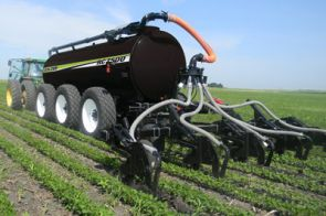 Row Crop Application System - The Row Crop Application System allows you to sidedress nutrients into standing row crop during the most optimal time of year.
