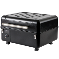RANGER PELLET GRILL - Pack your wood-fired flavor wherever adventure takes you. Cook a feast fit for the wilderness right on your truck bed while you spend the day at your favorite fishing hole, or bring it along for a weekend away. Featuring Traeger's Digital Arc controller, the Ranger gives you precise temperature control with an added Keep Warm Mode to make sure your food is ready to eat whenever you are. Next time adventure calls, answer it with the Traeger Ranger.