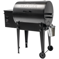 TAILGATER PELLET GRILL - From game days to getaways, bring wood-fired flavor everywhere with the new Tailgater 20. Featuring a compact, portable design, it's prime for balconies, tailgating or anywhere else you want to take 6-in-1 versatility and superior taste. And now it comes armed with Traeger's Digital Arc controller for more precise, consistent temperatures and a Keep Warm Mode that keeps food fresh until chow time.
