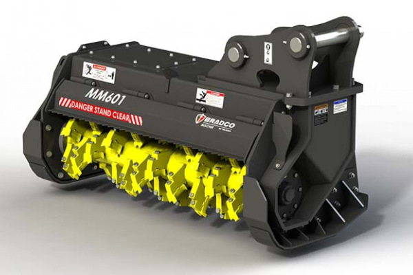 Paladin Attachments | Bradco HD EX Mulcher | Model MM601 for sale at Kings River Tractor Inc.
