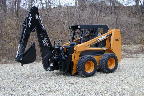 Paladin Attachments | Bradco SS/TR Backhoe | Model Backhoe 511B for sale at Kings River Tractor Inc.