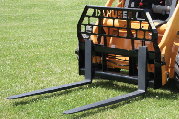 Danuser | Pallet & Grapple Forks | Model Full Brick Guard for sale at Kings River Tractor Inc.