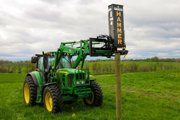 Danuser | Post Drivers | Model Hammer EM40 with Tilt for sale at Kings River Tractor Inc.