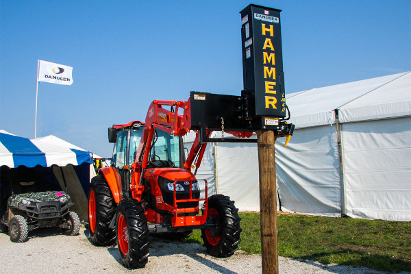Danuser | Post Drivers | Model Hammer LM40 with Tilt  for sale at Kings River Tractor Inc.