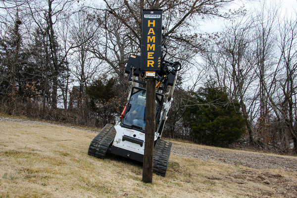 Danuser | Post Drivers | Model Hammer SM40 with Tilt for sale at Kings River Tractor Inc.