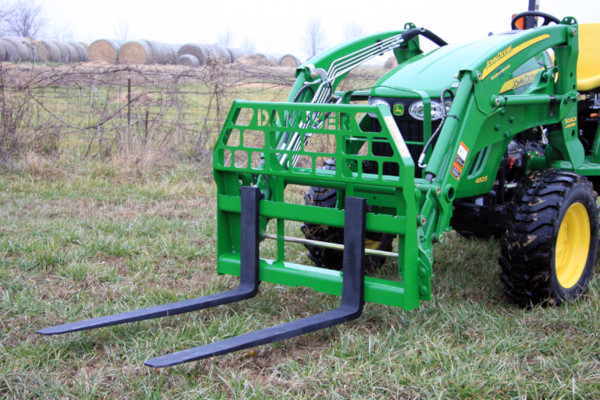 Danuser | Pallet & Grapple Forks | Model John Deere 200/300/400/500 Series Loader for sale at Kings River Tractor Inc.