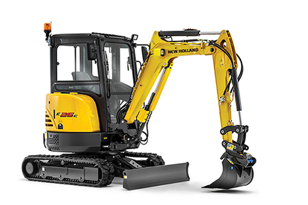 New Holland | Light Construction Equipment | Compact Excavators - C-Series for sale at Kings River Tractor Inc.