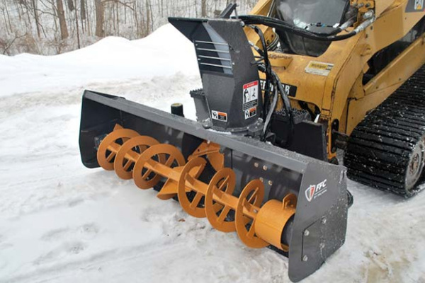 Paladin Attachments | FFC SS Snow Blower | Model 11072 (F,G,H) for sale at Kings River Tractor Inc.