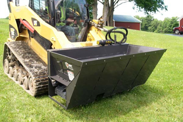 Paladin Attachments | FFC | FFC SS Side Discharge Bucket for sale at Kings River Tractor Inc.