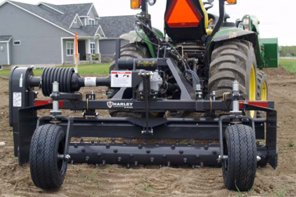 Paladin Attachments | Power Box Rake — Chain Drive | Model TM4 for sale at Kings River Tractor Inc.