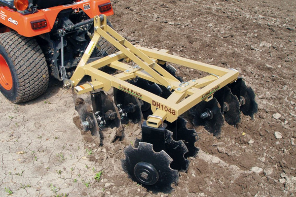 Land Pride | DH10 Series Disc Harrows | Model DH1048 for sale at Kings River Tractor Inc.