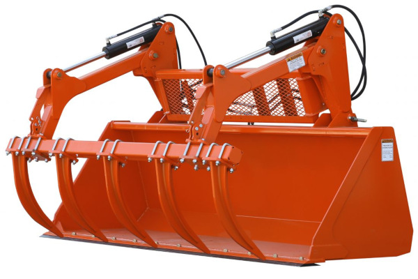 Land Pride | GB25 & GBE25 Series Grapple Buckets | Model GBE25108 for sale at Kings River Tractor Inc.
