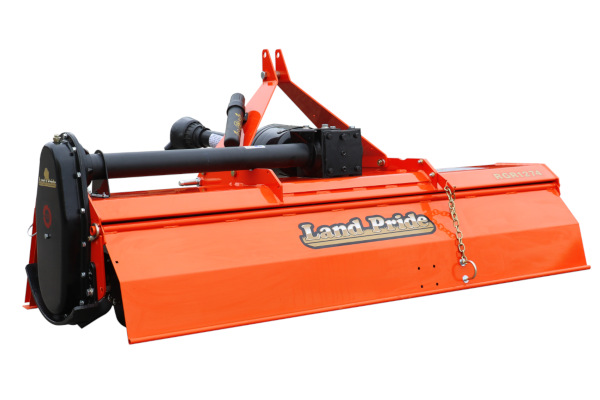 Land Pride | RGA12 & RGR12 Series Gear Drive Rotary Tillers | Model RGA1258 for sale at Kings River Tractor Inc.