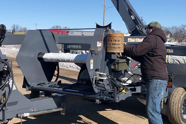 Loftness | Grain Bag Unloaders | Grain Bag Baler for sale at Kings River Tractor Inc.