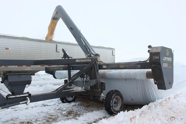 Loftness | Grain Bagging | Grain Bag Unloaders for sale at Kings River Tractor Inc.