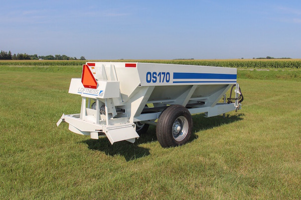 Loftness Orchard Spreader for sale at Kings River Tractor Inc.