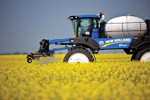 New Holland SP370F for sale at Kings River Tractor Inc.
