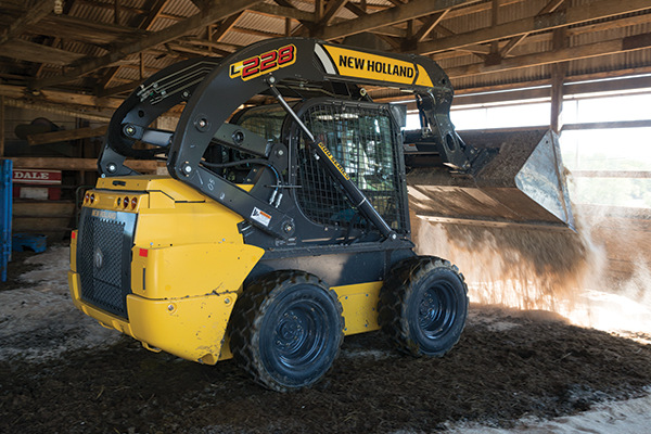 New Holland | Skid Steer Loaders | Model L228 for sale at Kings River Tractor Inc.