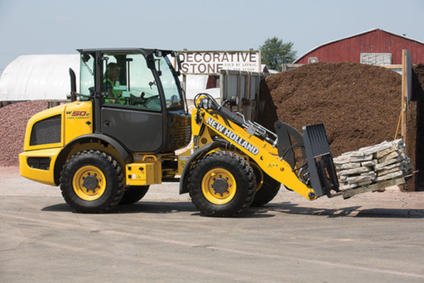 New Holland | Compact Wheel Loaders | Model W50C TC for sale at Kings River Tractor Inc.
