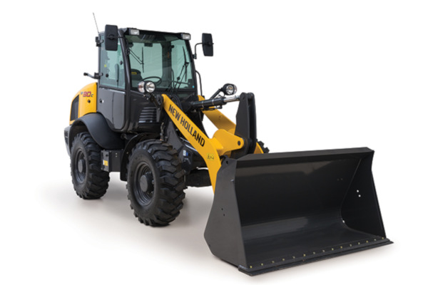 New Holland | Compact Wheel Loaders | Model W80C HS for sale at Kings River Tractor Inc.