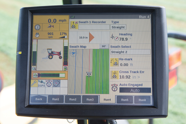 New Holland Integrated IntelliSteer™ Auto Guidance for sale at Kings River Tractor Inc.