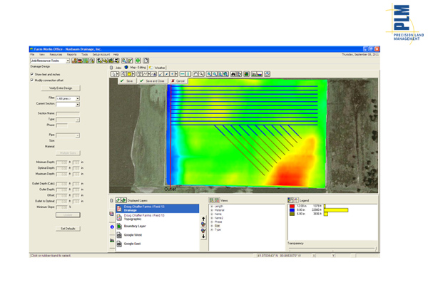 New Holland PLM™ Water Control Software for sale at Kings River Tractor Inc.