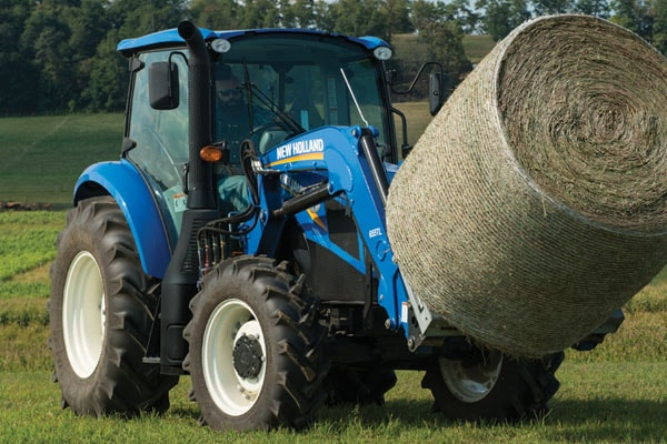 New Holland | T5 Series - Tier 4B | Model T5.110 Electro Command™ for sale at Kings River Tractor Inc.