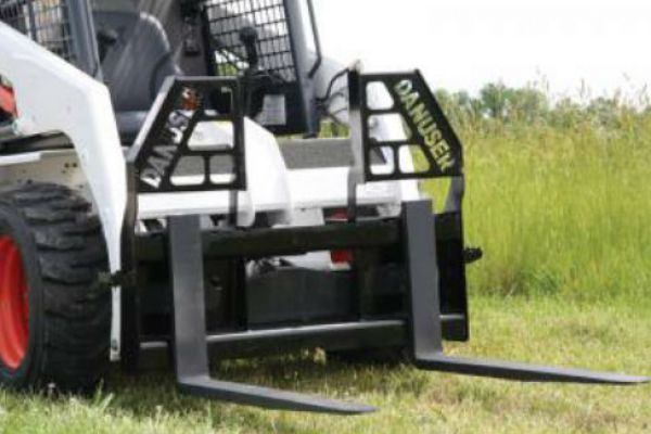 Danuser | Pallet & Grapple Forks | Model Walk-Thru Brick Guard for sale at Kings River Tractor Inc.