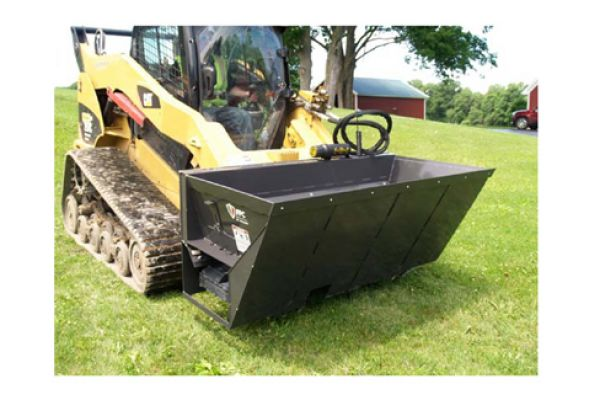 Paladin Attachments FFC SS Side Discharge Bucket for sale at Kings River Tractor Inc.