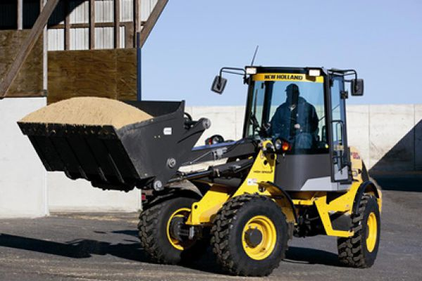 New Holland | Compact Wheel Loaders | Model W80B TC (Prior Model) for sale at Kings River Tractor Inc.